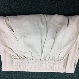 BLOWOUT SALE! Silk Pants - White XL Silk Tai Chi Pants / Kung Fu Pants (YMAA)