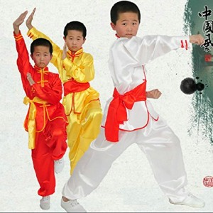 Adults & Children Chinese Traditional Kungfu Uniform Martial Arts Clothing Tai Chi Suits