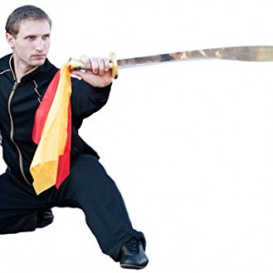 Competition Wushu Broadswords with Metal Handle