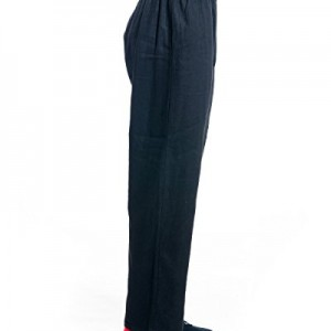 ICNBUYS Men's Tai Chi Pants Cotton Linen