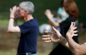 tai chi lessons in park
