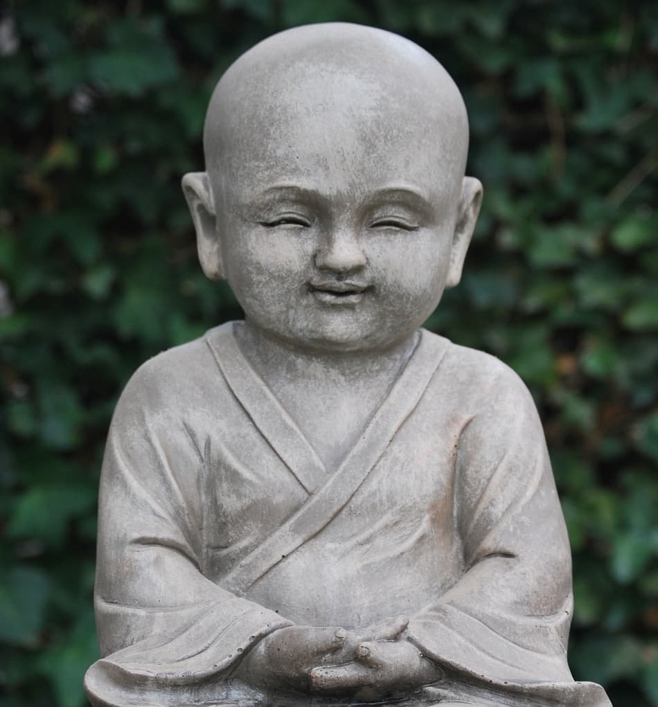 boy statue example of the inner smile meditation